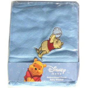 "Baby Infant Embroidered Fleece Blanket Throw 30/""x40/"" Disney Princesses Pink New"