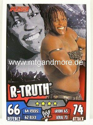 RAW R-Truth Slam Attax Rumble