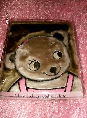 """Baby Books & Albums Cuddly,colorful,preschoolerspink New To Ensure Smooth Transmission New """"tiny Bear's Bible"""" By Zonderkids,soft Keepsakes & Baby Announcements"""