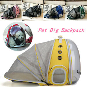 Extendable-Portable-Pet-Puppy-Bags-Travel-Carrier-Backpack-Cat-Dog-Space-Capsule