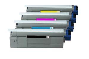 4-Premium-Toner-Rebuilt-Pour-OKI-c5600-C-5600n-c5600dn-c5700-c5700n-c5700dn-NEUF
