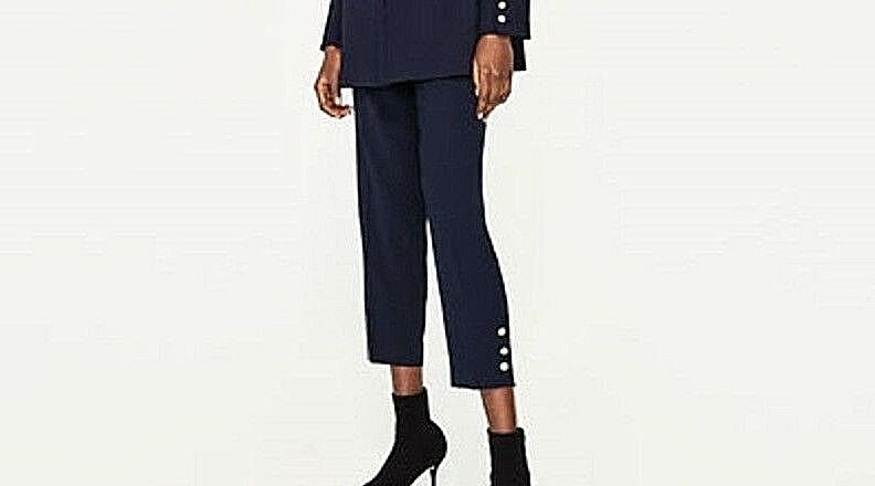 ZARA WOMEN SKINNY TROUSERS WITH PEARLED DETAIL SIZE UK M NEW WITH TAG