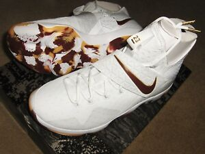 525bf06edc530 ... clearance image is loading nike lebron 14 xiv white team red gum .