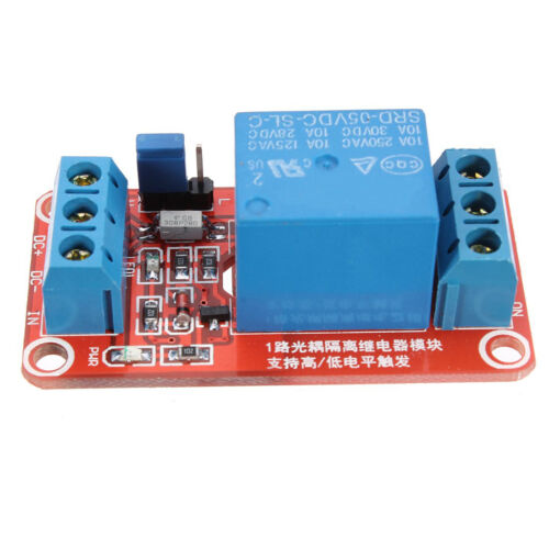 10X 5V 1 channel H // L Level Trigger Relay Optocoupler Module for Arduino BF