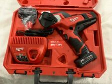 Milwaukee 2472 21xc M12 600 Mcm Cable Cutter Kit With 60 Ah Batteries