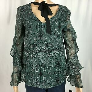 New-BCX-Top-Shirt-Green-Size-S-NWT