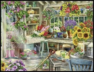 Gardener's Paradise -Chart Counted Cross Stitch Pattern Needlework Xstitch craft