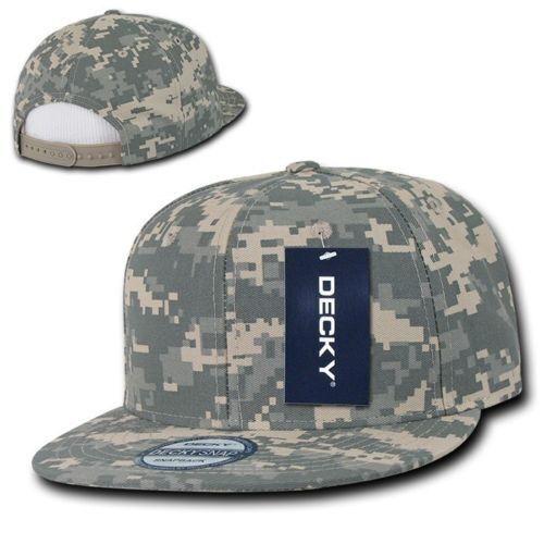 Digital Camouflage SNAPBACK HAT Cap UNIVERSAL CAMO vtg retro flat bill bill flat blank ACU 2c632d