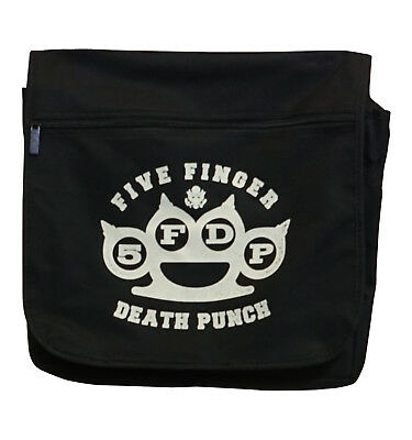 Five Finger Death Punch Knuckles PU Trifold Chain Wallet