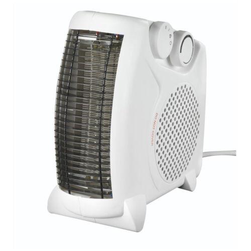 Thebigship ® Riscaldatore Ventola 2 KW 2000 W con 2 regolazioni di calore e fresco Blow