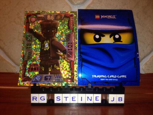 Lego® Ninjago™ Serie 2 Echo Zane LE18 Goldkarte Trading Card Game Cards NEU