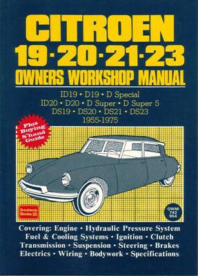 CITROEN DS SHOP MANUAL SERVICE REPAIR WORKSHOP BOOK ID DS21 DS20 DS19 DS23 DS  21 | eBayeBay