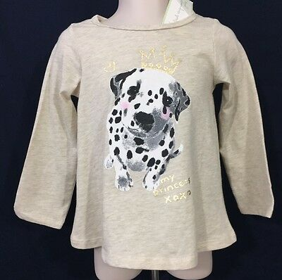New//Tags 18 Month First Impressions Baby Girl/'s 100/% Cotton Dalmatian LS TShirt