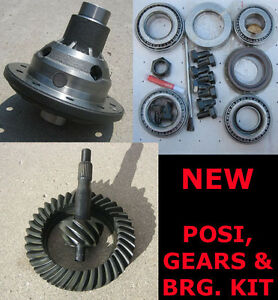 9-034-Ford-Trac-Lock-Posi-31-Gear-Bearing-Kit-Package-4-63-Ratio-9-Inch-NEW
