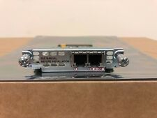 Cisco VIC2-2FXO 2-port FXO voice//fax interface card Same Day Shipment