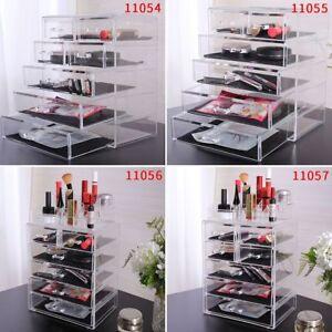 Acrylic-Jewelry-Makeup-Cosmetic-Organizer-Case-Display-Holder-Drawer-Box-Storage