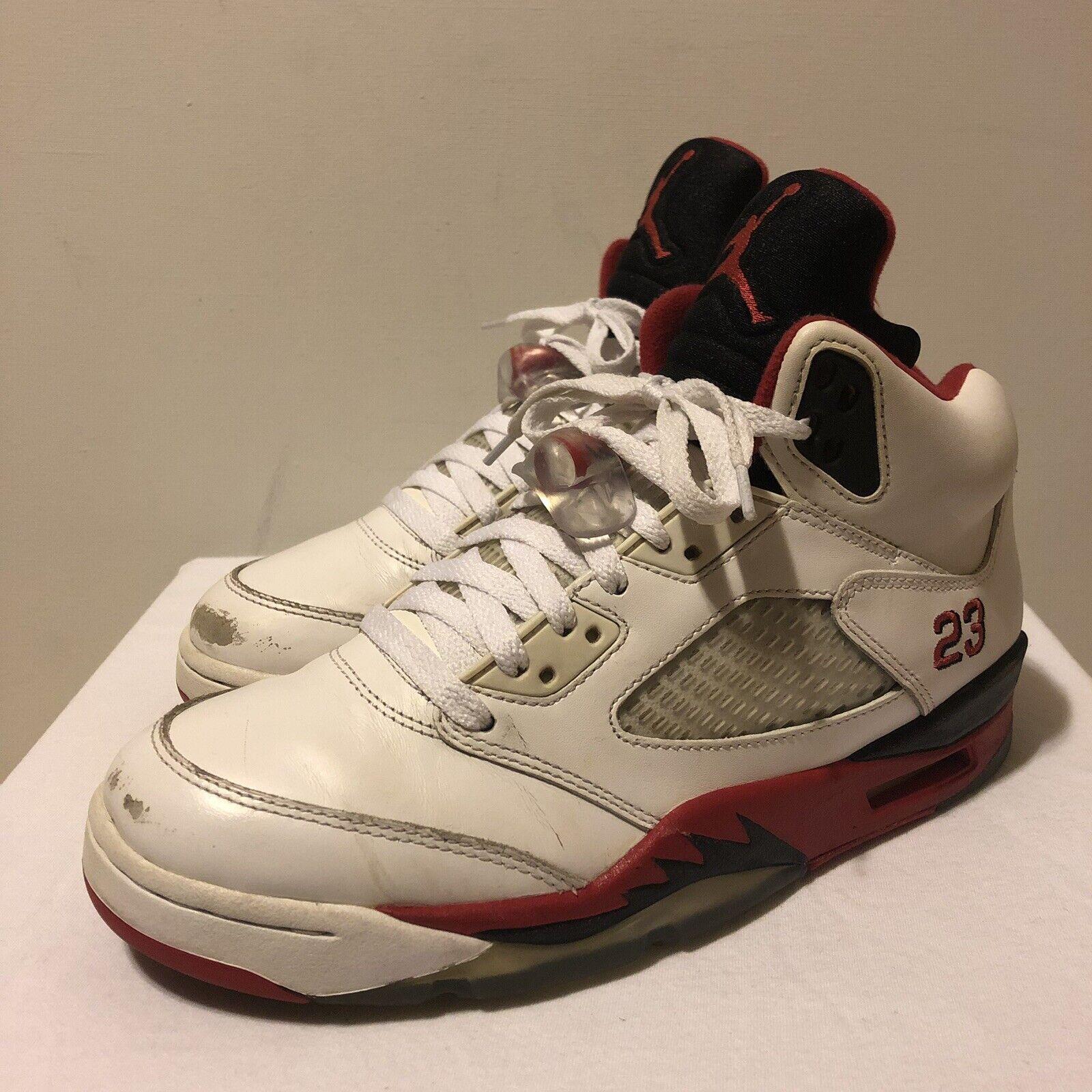 Air Jordan 5 Retro Fire Red Size 8