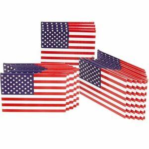 Juvale USA American Flag Refrigerator Magnets Patriotic Pride (24 Count)
