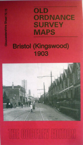Old Ordnance Survey Maps Bristol Kingswood  Gloucestershire 1903 S 72.15 New
