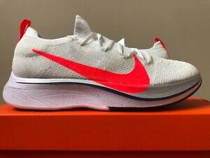 217cb255d1c Details about Nike Vaporfly 4% Flyknit Ekiden White Flash Crimson  AJ3857-160 100% Authentic