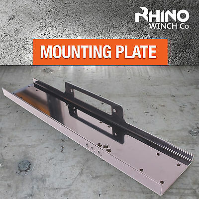 8000lb to 15000lb 4x4 Rhino Winch Winch Mounting Plate Tray Compact Heavy Duty