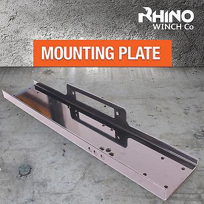 Heavy Duty Winch Mounting Plate ~ 13000lb to 15000lb Rhino Winch