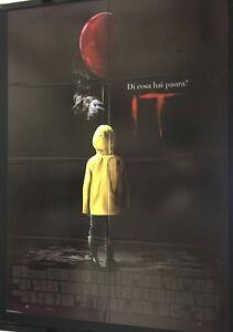 IT-Stephen-King-2017-Poster-Manifesto-originale-Prima-Edizione-ITA-100X140cm