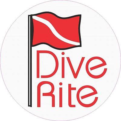 Dive Rite Decal Sticker  200-24