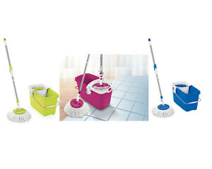 leifheit set clean twist mop bodenwischer wischmop color edition ebay. Black Bedroom Furniture Sets. Home Design Ideas