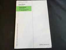 Original Service Manual Correction Bang Olufsen head Phones  Typ 2651-2657