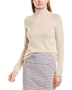 J-Mclaughlin-Cabot-Turtleneck-Cashmere-Sweater-Women-039-s-Beige-Xl