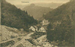 Ansichtskarte Tiefenstein 1912  (Nr.750)