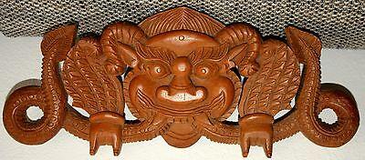 Aggressiv Asiatische Schnitzerei - Asiatische Kunst / Holz Um Eine Reibungslose üBertragung Zu GewäHrleisten