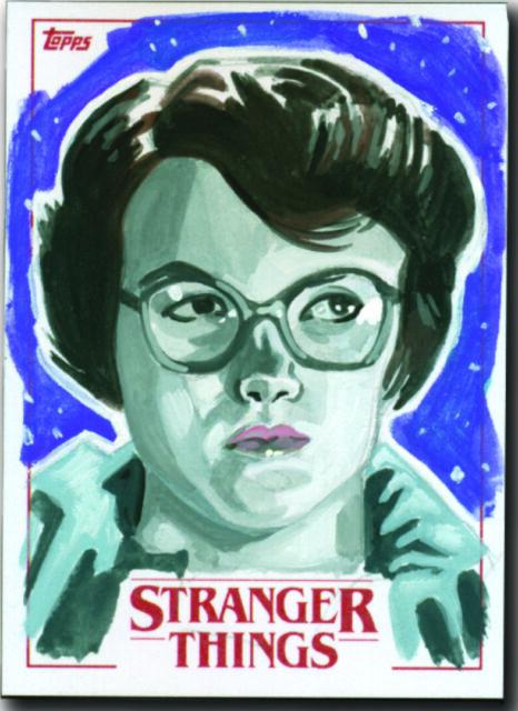 2018 Topps Stranger Things - Barb - Artist Proof Sketch Card Matt Stewart