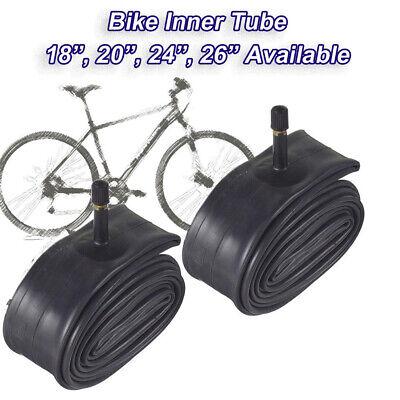 "2 x  Bike Tyre Inner Tubes 24/"" Inch X 1.75//2.125  MTB Bicycle Schrader Valve"