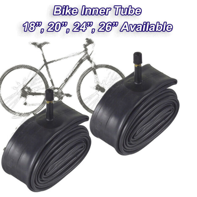 "CAR AUTO VALVE Cycle  Inner Tube 26/"" x 2.35 SCHRADER PAIR Bike"