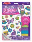 Melissa & Doug Mess- Glitter Friendship Foam Stickers 5 E2