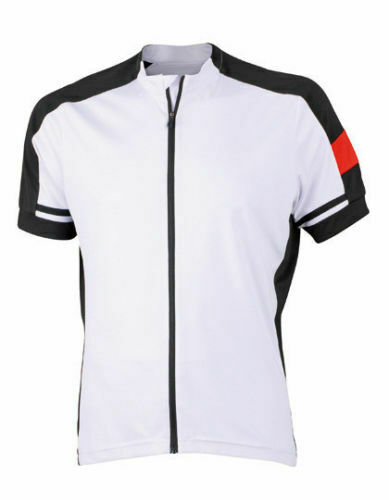 James Nicholson Men/'s Bike T-Shirt Fahrradtrikot JN516 Herren Radsport S-3XL