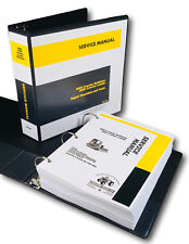 Service Manual For John Deere 450d Crawler Bulldozer Technical Repair Shop Book