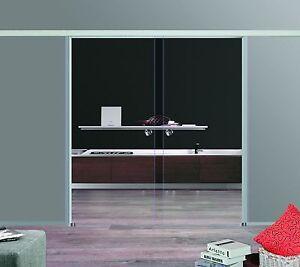 Slimline softstop glasschiebet r glas schiebet r 2 fl gelig 2x900x2050 c900 dpl ebay - Fenster 2 flugelig ...