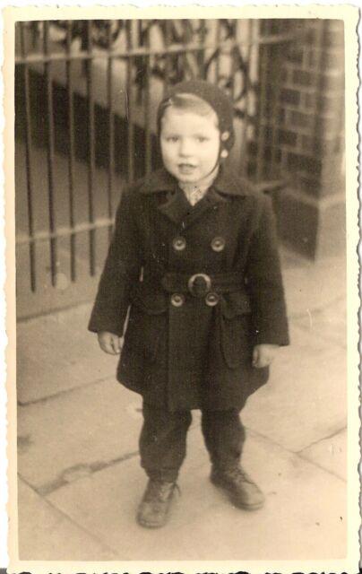Foto AK Niedlicher kleiner Junge