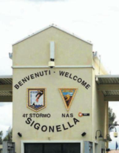 NAS SIGONELLA AUTHENTIC PATCH HUB MED NATO US NAVY PIN UP USS 6th FLEET ITALY