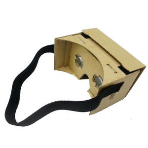 1x-Fashion-Black-Head-Strap-Mount-For-Google-Cardboard-3D-VR-Virtual-Glasses
