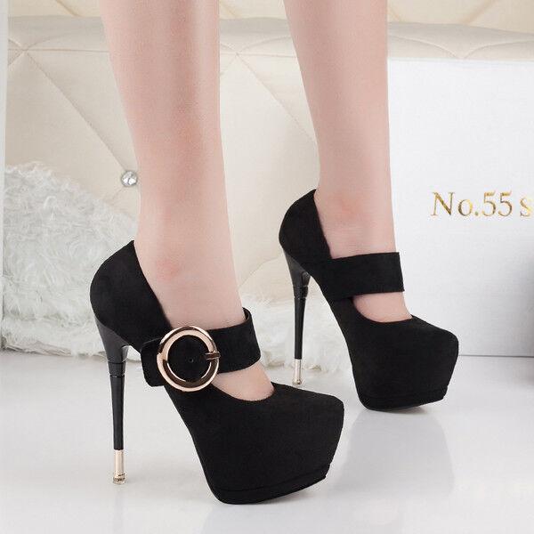 Decolte shoes invernali 15 eleganti stiletto black   simil pelle comode 9530