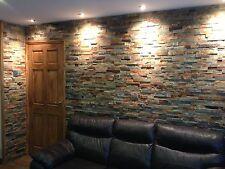 Splitface Multicolour Slate Mosaic Tiles ( sample )