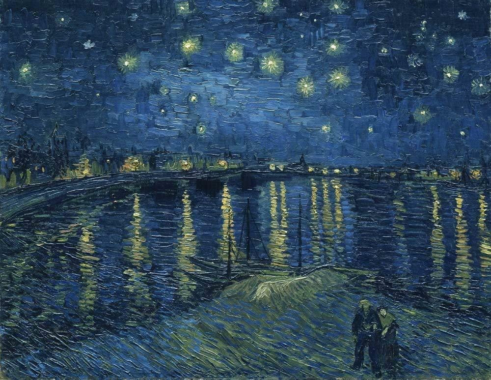 Canvas Prints Van Gogh Wall Art Painting Repro Pictures Home Decor Starry Night 8