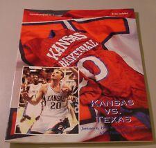 KU Jayhawk Basketball Program - Texas Jan 6, 1997