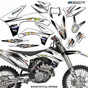 2011-2012 KTM XC XCF 150 250 300 350 GRAPHICS SET DECO DECALS STICKERS