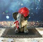 Cirque a OOAK mohair artist vintage style circus elephant