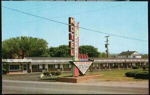 CHARLES TOWN WV Shenandoah Motel Rt 340 Vtg Postcard Old West Virginia Signage